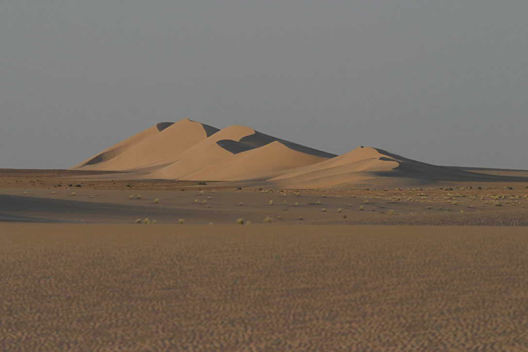Dunes in West Mauretania